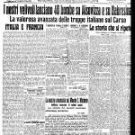 La gloria di Roma al fronte – 20 settembre 1915