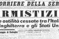 Armistizio di Cassibile - 8 settembre 1943