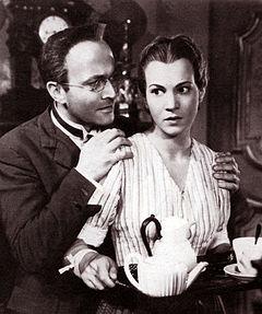 Osvaldo Valenti e Luisa Ferida in La bella addormentata (1942) di Luigi Chiarini