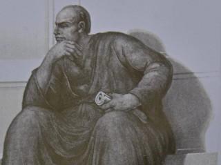 Dalmine, in chiesa il profeta Geremia è il ritratto di Benito Mussolini