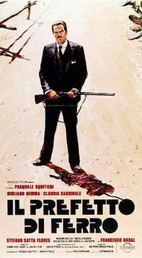 """Locandina del film """"Il Prefetto di ferro"""" di Pasquale Squittirei del 1977"""