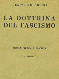 La Dottrina del Fascismo