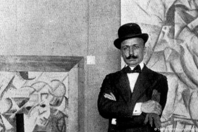 Muore Filippo Tommaso Marinetti – II XII MCMXLIV